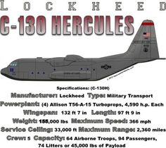WARBIRDSHIRTS.COM presents 1950-Present T-Shirts, Polos, and Caps, Fighters, Bombers, Recon, Attack, 1950 - Present day. The C-130 Hercules