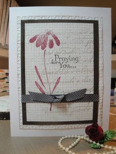 Sympathy Card by CBmott - Cards and Paper Crafts at Splitcoaststampers