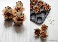 Pyszne marchewkowe muffinki z jabłkiem i cynamonową kruszonką.