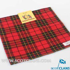 Brodie Modern Tartan Handkerchief