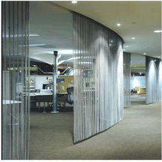 Metallic Drapery-Anping County Masewa Metal Net Co. Drapery, Curtains, Metal Net, Beauty Clinic, Metal Curtain, Adaptive Reuse, Your Design, Blinds, Interior Design