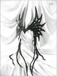 demonic wings | Demonic Fantasy...Horned Wings | Style Guide...