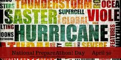 APRIL 30 NATIONAL PREPAREATHON DAY! National PrepareAthon! Day on April 30th reminds us that crisis happens suddenly. Being prepared needs to happen now, not later. Natural disasters such as earth…