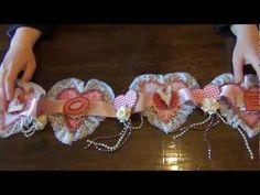 Shabby Chic Valentine's day Banner