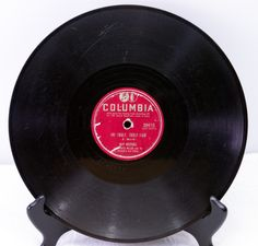 """1951 Columbia 10"""" 78 Shellac Record, Guy Mitchell/My Truly Truly Fair - Play-Rated as G (Good) - only $1.95"""