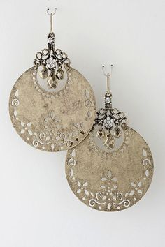 Golden Boho Statement Earrings