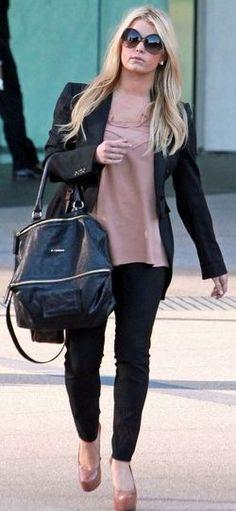 Purse - Givenchy Sunglasses - Balenciaga Shoes - Yves Saint Laurent Similar style shoes