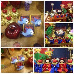 E as lembrancinhas  lindas de @klbiagi também enfeitaram a festa da neta Luiza!  Caixinhas de acrílico ...