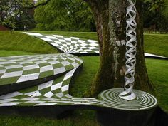 The Garden of Cosmic Speculation  Charles Jencks, Dumfries, Scotland