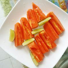 Papaya Mojito (inspired by Celeb Chef, Laura Calder)