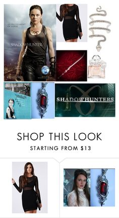 """""""Isabelle Lightwood #1"""" by daughter-of-poseidon1 ❤ liked on Polyvore featuring Missguided and Guerlain"""