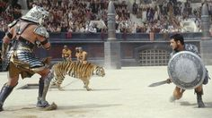 69. Gladiator (2000) The Fight: Having already gained the audience's approval, Maximus is pitted against Tigris of Gaul in the arena, all while surrounded by chained tigers held back by handlers who have been given specific instructions by evil Commodus to target our Max. Killer Move: The real killer move is, of course, Maximus defying the emperor to spare Tigris' life and earning respect from the crowd and his fellow fighters. But we'll still opt for the moment when a tiger leaps onto…