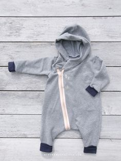 DIY baby baggy jumpsuit.