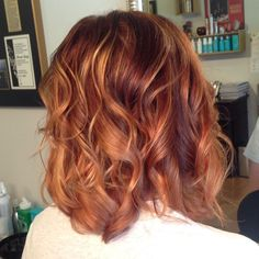by celeste_buchanan Beautiful babylights! by celeste_buchanan Chi Hair Color, Hair Color Auburn, Auburn Hair, Red Hair With Lowlights, New Hairstyle Cutting, Creative Hair Color, Honey Hair, Beautiful Long Hair, Fall Hair