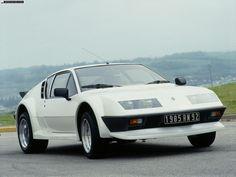 Renault Alpine A-310. V6 Group 4. 1984