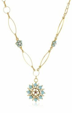Antiquities Couture Vintage-Inspired Gold-Tone and Turquoise Colored Pendant Necklace Antiquities Couture, http://www.amazon.com/dp/B002AHIIDW/ref=cm_sw_r_pi_dp_P8i3qb1X073M0