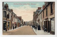 DOCKHEAD STREET LOOKING EAST, SALTCOATS: Ayrshire postcard (C13474) | Collectables, Postcards, Topographical: British | eBay! Street Look, Street View, West Coast Scotland, Glasgow Scotland, Postcards, British, Country, Prints, Photography