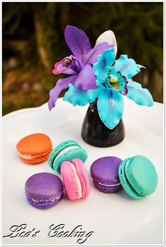 Lea's Cooking: How to Make French Macarons