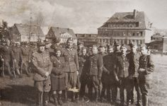 My father with the Polish army on the way to Berlin