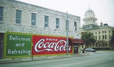 Coca Cola sign in Belton, Texas