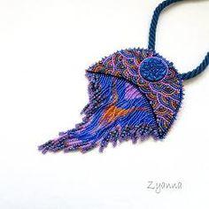 duży,oryginalny,okazały,widoczny,kolorowy - Naszyjniki - Biżuteria