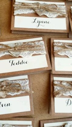 wedding invitations with pictures rustic place cards Wedding Places, Wedding Place Cards, Destination Wedding, Wedding Planning, Country Wedding Invitations, Rustic Invitations, Wedding Stationery, Wedding Invitations Diy Handmade, Invitation Kits