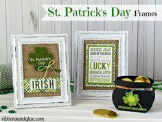 St Patrick's Day Frames...