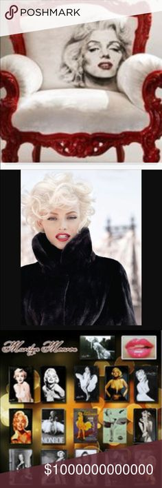 MARILYN MONROE. It's All About 💋MARILYN MONROE💋Many More Listings Coming!                                             LIKE AND SHARE FOR UPDATES ON NEW LISTINGS. 💄👠 Accessories