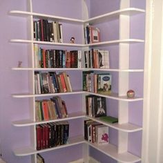 how to....http://www.instructables.com/id/Stylish-and-easy-to-make-corner-bookshelf/