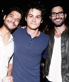 Teen Wolf - Tyler Posey, Dylan O´Brien, Tyler Hoechlin(Beauty People Teen)