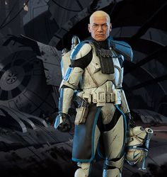 Clone Captain Rex served the Republic during the Clone Wars, often taking orders from Anakin Skywalker and Ahsoka Tano. He viewed military service as an honor, and he always completed his mission.
