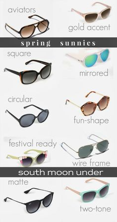 Spring Sunnies Roundup   south moon under 2e658c491664