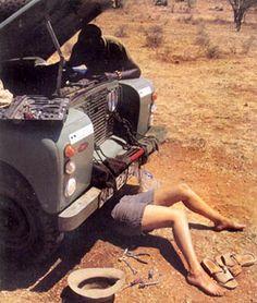 Yep, it's a Land Rover...