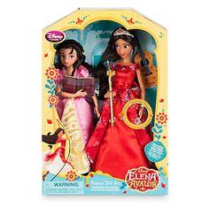 "Disney New Princess Elena Of Avalor 11"" Deluxe Singing Doll Set & Isabel New Box"