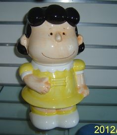 Lucy Cookie Jar made by Benjamin & Medwin