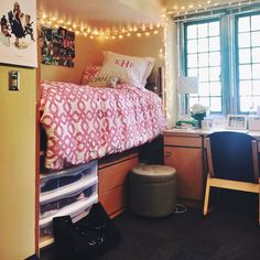 preppyandpeppy: Dorm is coming together!