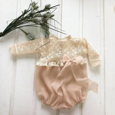 Lace and chiffon baby bloomers. Perfect for newborn and sitter photography sessions.