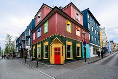 Colorful Reykjavik #Iceland