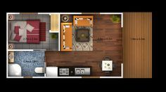 """Such a beautiful garage conversion, also featured in a NY Times article, """"Converting a Seattle garage into a tiny home."""" Description from pinterest.com. I searched for this on bing.com/images"""