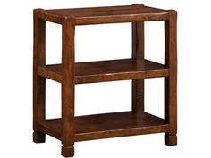 Nichols and Stone Living Room American Rustic Lamp Table NS-56500-321 - Paul Schatz Furniture - Tigard & Eugene, OR