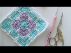 Renkli motif - YouTube Crochet Granny, Crochet Hats, Blanket, Granny Squares, Youtube, Patterns, Knitting Hats, Crochet Pattern, Blankets