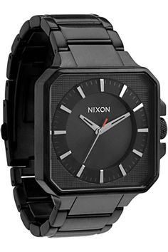 The Platform Watch by Nixon in All Black - Take a Jump. #nixon #watch #watches