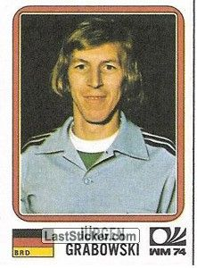 Sticker 99: Jurgen Grabowski - Panini FIFA World Cup Munich 1974 - laststicker.com