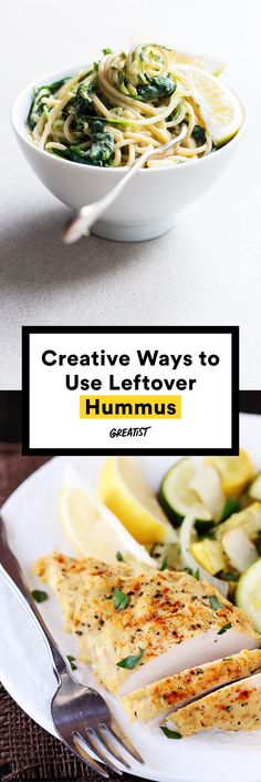 Hummus is where the heart is. #greatist http://greatist.com/eat/leftover-hummus-recipes
