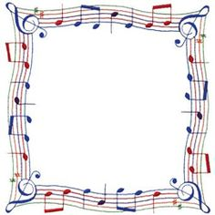 Free Music Borders Clip Art  Grunge Music Frame By XNerd On