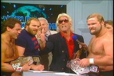 ric flair on nwa wrestling | ... ole anderson manager jj dillon nature boy ric flair and arn anderson