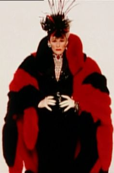 Cruella DeVil, Faux Fur Coat: Costume of Anthony Powell for 102 Dalmatians Live Action, 101 Dalmatians Movie, Fur Coat Fashion, Cruella Deville, Devil Costume, Zsa Zsa, Childhood Movies, Bold And The Beautiful, Steampunk Costume
