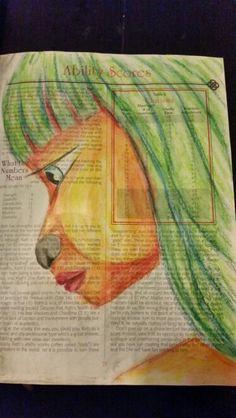100 Faces Challenge : 7/100. Miranda Bosch - Thurlings