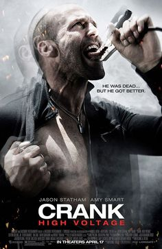 Crank 2 : High Voltage - Mark Neveldine (2009). Funny but not as good as the first one!