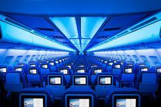 Air Transat unveils new cabin interiors - Business Traveller #travel #aircraft